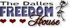 Dalles Freedom House Logo