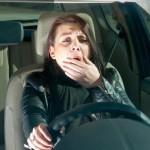 sleep while driving